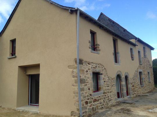 Enduit facade chaux hydraulique